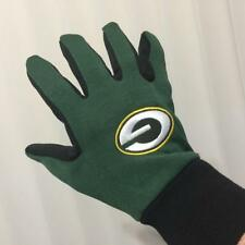 Green Bay Packers Gloves NFL Sport Utility Officially Licensed Mens Pebble Grip