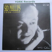 SID PHILLIPS - 1936-1937 - Excellent Condition LP Record Harlequin HQ 3025