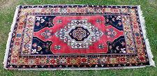 tappeto blu rosso 190 x 94 cm (3)