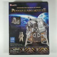 CubicFun - Apollo Lunar Module 3D Puzzle - 104 Pieces *NEW IN BOX*