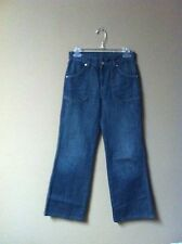 Diesel Blame Women's Dark Blue Denim Wide Leg Jeans Size 25