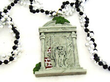 Voodoo Queen Tomb Marie Laveau Mardi Gras Bead Necklace Angel Crypt New Orleans