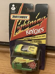 Vintage 1991 Matchbox Lightning Key Cars Ferrari Cyclone NIB Sealed