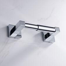 Salle de bain carrée papier toilette de support de rouleau chromée