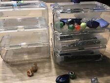 Sortierbox für Perlen 17x10cm von Vintageparts Schmuckaufbewahrung Perlenbox