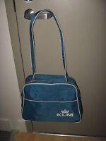 KLM Travel Bag - Vintage Royal Dutch Airlines Souvenir Airplane Shoulder Pack