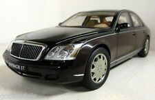 Autoart 1/18 Scale B6 696 2158 Maybach 57 Black over brown dealership edition