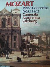 Mozart Piano Concertos No 23 & 25 Vinyl Album Conducted by Geza Anda. Fast FREE