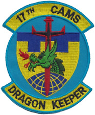17th Consolidated Aircraft Maintenance Squadron Cams USAF Embroidered Patch