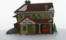 Department 56 New England Village Series Bluebird Seed and Bulb 1992  #56421