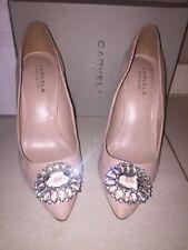 Nude Suede Carvela Shoes Size 6