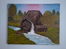 Old Watermill 50×40cm oil painting on canvas.
