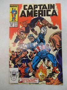 CAPTAIN AMERICA #335 NOVEMBER 1987 NM- NEAR MINT 9.2 9.4 WATCHDOGS JOHN WALKER
