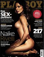 1 - PLAYBOY D 12/2011 Dezember - Naike Rivelli + Irene Hoek - Flug-Cover