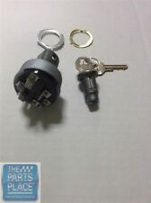 1966-67 Pontiac GTO / LeMans Ignition Switch With Key Tumbler - 6 Prong