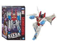 Transformers Siege: War For Cybertron Starscream Voyager Class Figure Hasbro