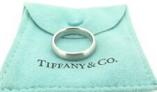 .Tiffany & Co Solid Platinum 4.5mm wide Wedding Band / Ring -  Size Q1/2