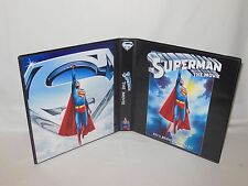 Custom Made Superman The Movie Christopher Reeve Trading Card Binder