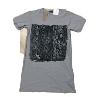 Rare Nwt Comme Des Garcon Homme Plux Oversized Ink Jet Print Tee Size Small