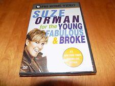 SUZE ORMAN Young Fabulous & Broke Financial Advice Finance Money Matters DVD NEW