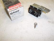 NOS Fan Relay - 1985 thru 92 Chrysler products - Chrysler 3940282