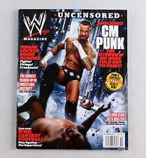 CM Punk October 2011 John Cena Wrestling Magazine Raw WWE WWF