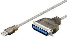 USB zu parall. Konverter/Adapter/Kabel |USB ZollA St.>36pol Centronics St.