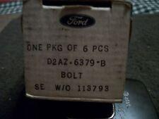 NOS 1970 1971 FORD MUSTANG MACH 1 351C BOSS 351 FLYWHEEL BOLTS SET OF 6x NEW