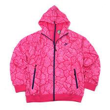 Nike NSW Split Windrunner Force Air Dunk SB Roshe Free $120 Pink Size Medium