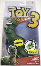 "JUMP ATTACK REX Toy Story 3 Movie 7"" inch Deluxe Figure 2010"
