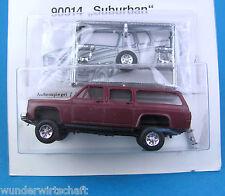Trident ALPHA h0 90014 Chevrolet Suburban foncé-rouge véhicule tout-terrain CHEVY HO 1:87