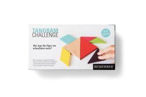 Remember TANGRAM Challenge Holz Legespiel