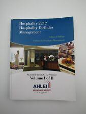 Hospitality 2212 College of DuPage Culinary Hospitality Vol 1/2 10725CTX01ENGE
