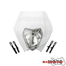 Universal White Motorcycle Headlight For KTM Motocross & Enduro Motorbikes