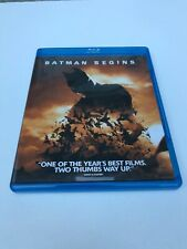 Batman Begins (Blu-ray Disc, 2008) Excellent