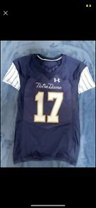 2018 TEAM ISSUED NOTRE DAME FOOTBALL SHAMROCK SERIES JERSEY