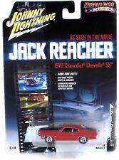 Johnny Lightning 1970 Chevy Chevelle SS Jack Reacher 1:64 Red JLCP6002