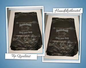 Hundekotbeutel Gassibeutel Hundebeutel Kotbeutel 20 x 32 + 3 cm Top Qualität