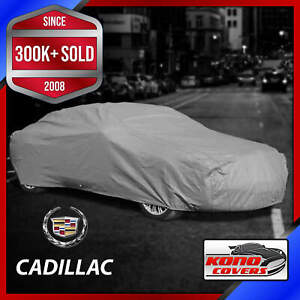 CADILLAC [OUTDOOR] CAR COVER ✅ Weatherproof ✅ 100% Full Warranty ✅ CUSTOM ✅ FIT