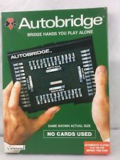Grimaud Autobridge For Intermediate Players Handheld Game No Cards 1979 COMPLETE