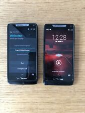 Awesome Lot of 2 Motorola Droid Razr M Smartphones (Verizon) - Xt907 - See Desc.
