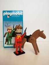 Playmobil 3342 v2 - Cowboy with Horse (Klicky-box, OVP) II