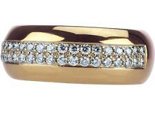 WEMPE Memory 18 K 750 Gelb Gold 0,60 ct Brillant Damen Ring RG 63 (20,0 mm Ø)