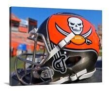 Tampa Bay Buccaneers Helmet Canvas 16x20 Football Florida Gronk Gronkowski Brady