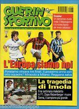 GUERIN SPORTIVO-1994 n.18- ADDIO A SENNA-NO INS. MONDIALE-NO FILM CAMPIONATO
