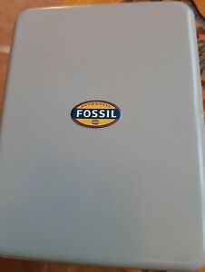 Fossil Watch/jewellery Tin - large large  - perfect for jewellery or trinkets