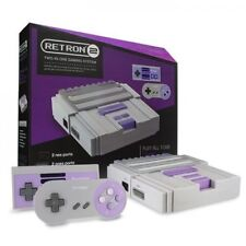 Gray Retron 2 System - NES and SNES - Brand New