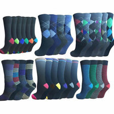 24 PAIRS OF MENS SOCKS ASSORTED SIZE 6-11 WHOLESALE JOB LOT CAR BOOT