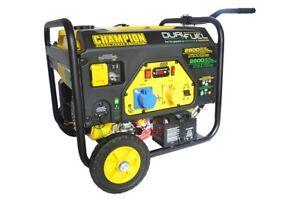 Champion CPG3500E2-DF 2800 Watt Dual Fuel Generator With Electric Start