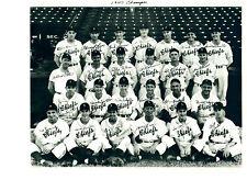 1947 CHAMPIONS SYRACUSE CHIEFS REDS FARM 8x10 TEAM PHOTO BASEBALL NEW YORK